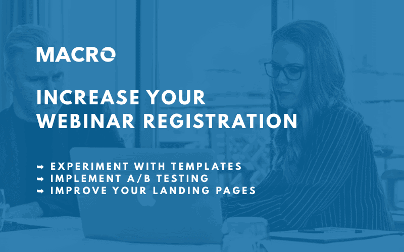3 Tips to Increase Webinar Registration