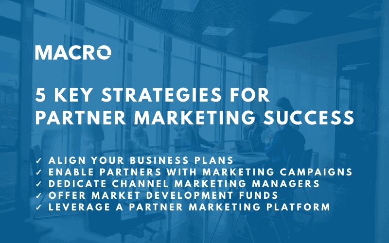 5 Key Partner Marketing Blog Image