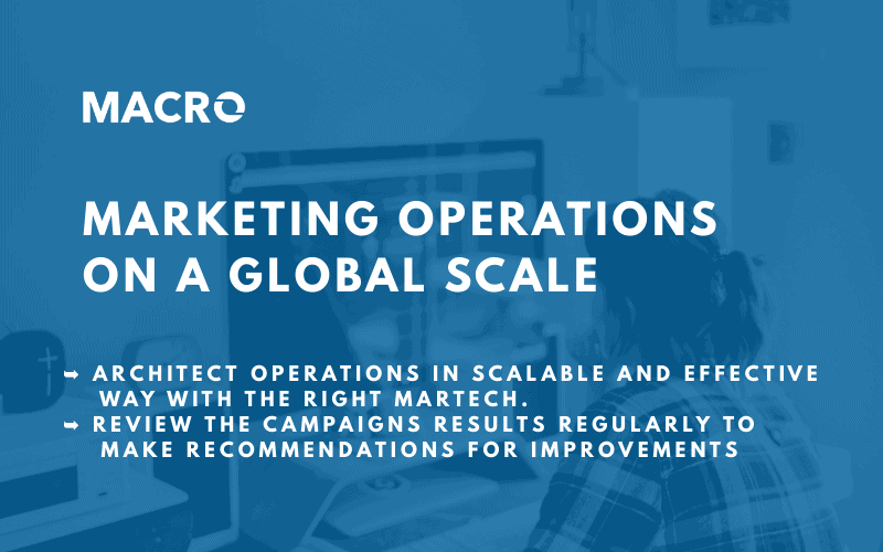 Marketing Operations on a Global Scale