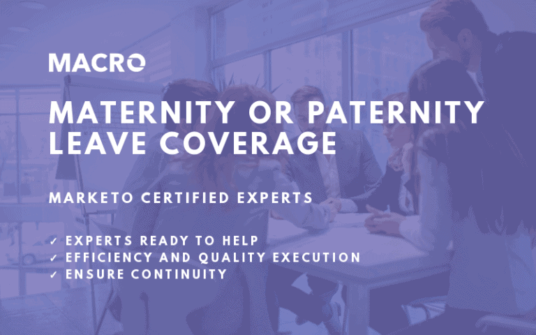 Marketo Maternity or Paternity Leave Coverage