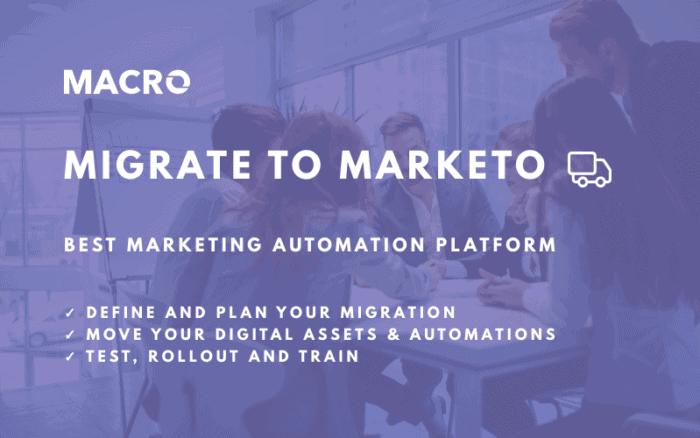 Marketo Migration Services