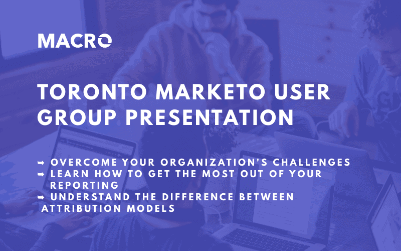 Toronto User Group Presentation