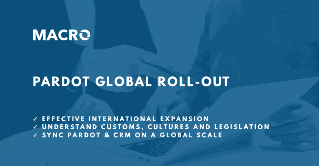 Pardot Global Roll Out