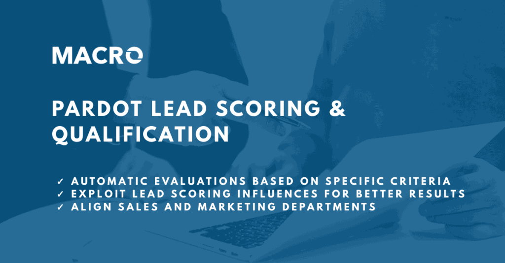 Pardot Lead Scoring and Grading