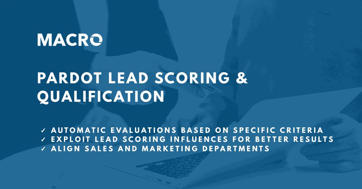 Pardot Lead Scoring and Grading blog image
