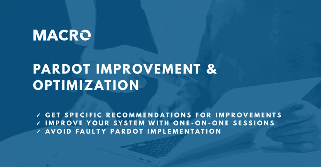 Pardot Optimization