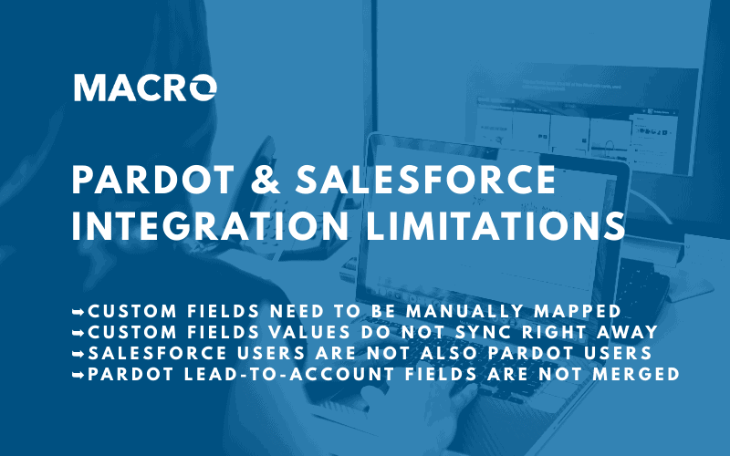 Pardot and Salesforce Integration Limitations blog banner