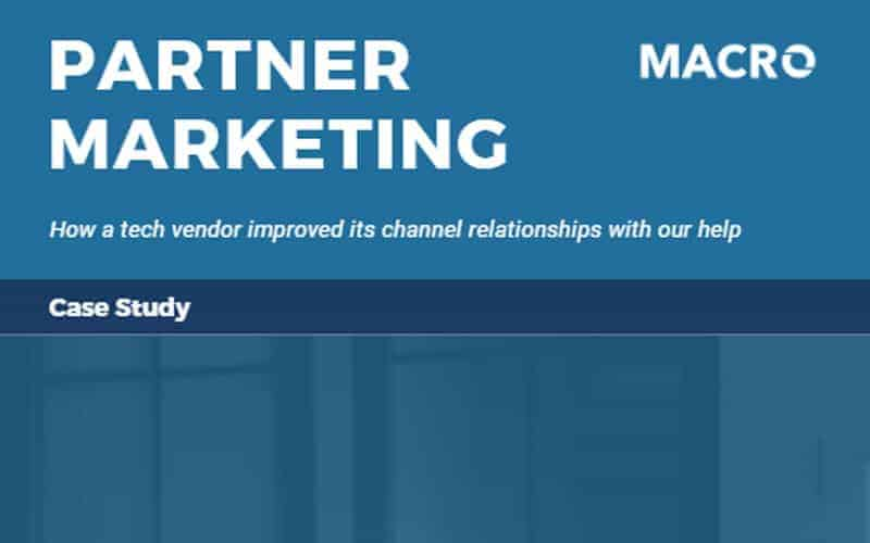 Partner Marketing Blog Post