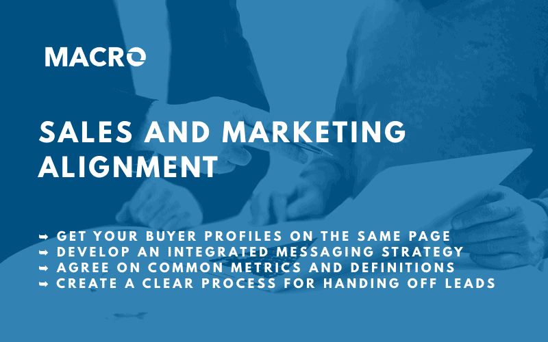 Sales and marketing alignment blog post