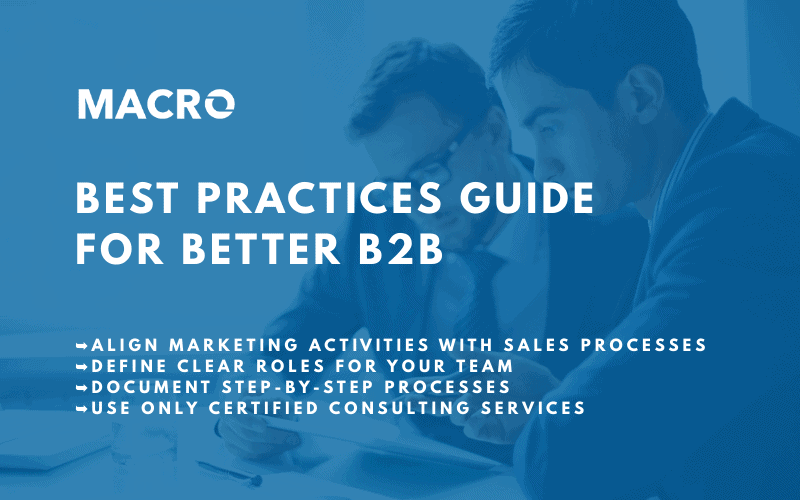 Six Best Practices for Better B2B