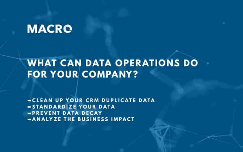 What Can Data Operations Do for Your Company?