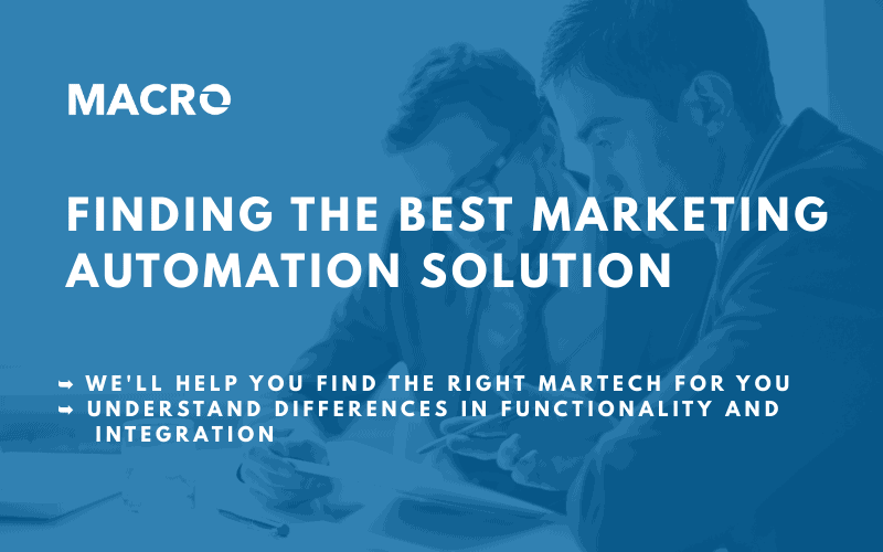 finding the best marketing automation solution image blog