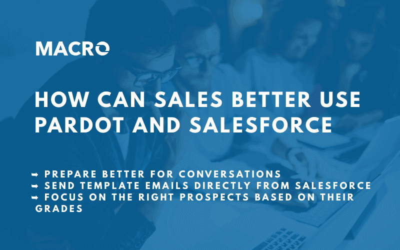 Pardot and Salesforce for Sales