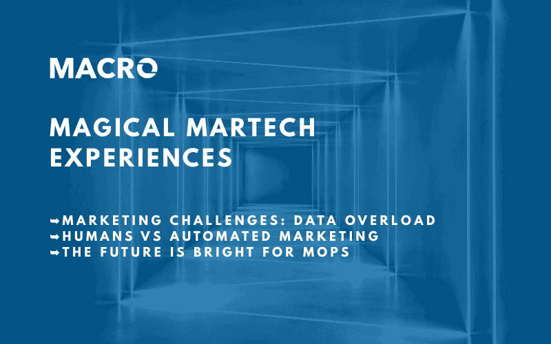 Magical MarTech Experiences