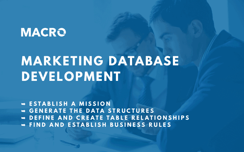 Marketing Database Development Methodology