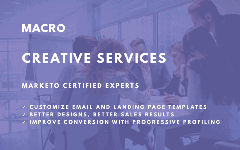 Creative Services for Marketo