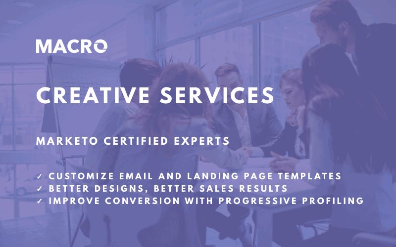 marketo creative services