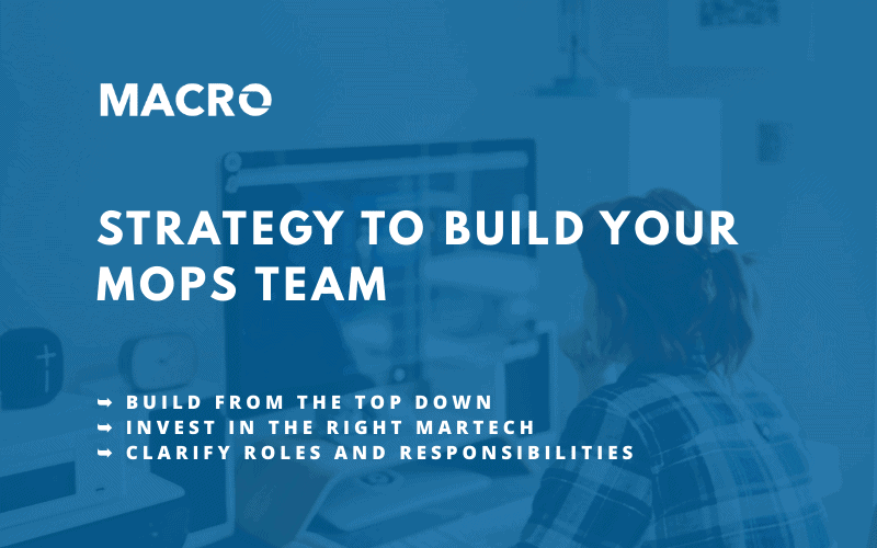 How to Build Your Marketing Operations Team